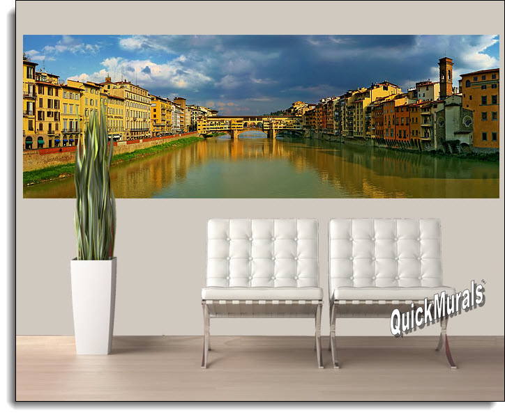 Florence, Italy Peel And Stick Wall Mural