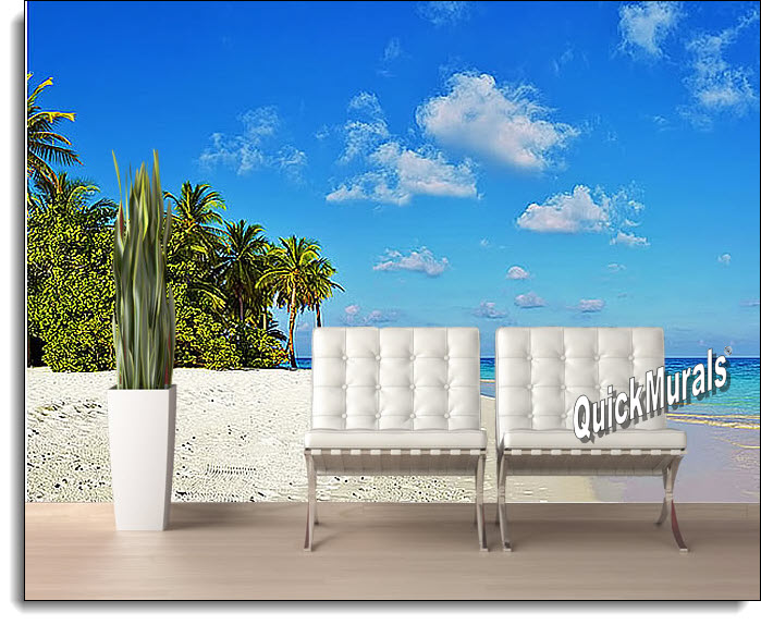 Tropical Escape Peel And Stick Wall Mural