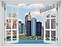 New York City (Color) #2 Window Mural