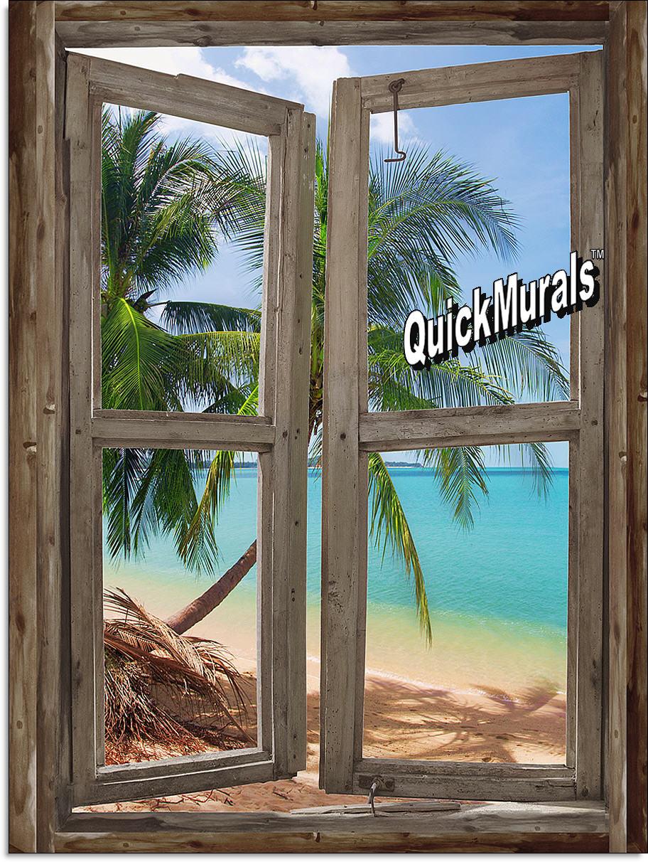 100 peel and stick wall murals cheap amazon com wall decal peel and stick wall murals cheap beach cabin window mural 3