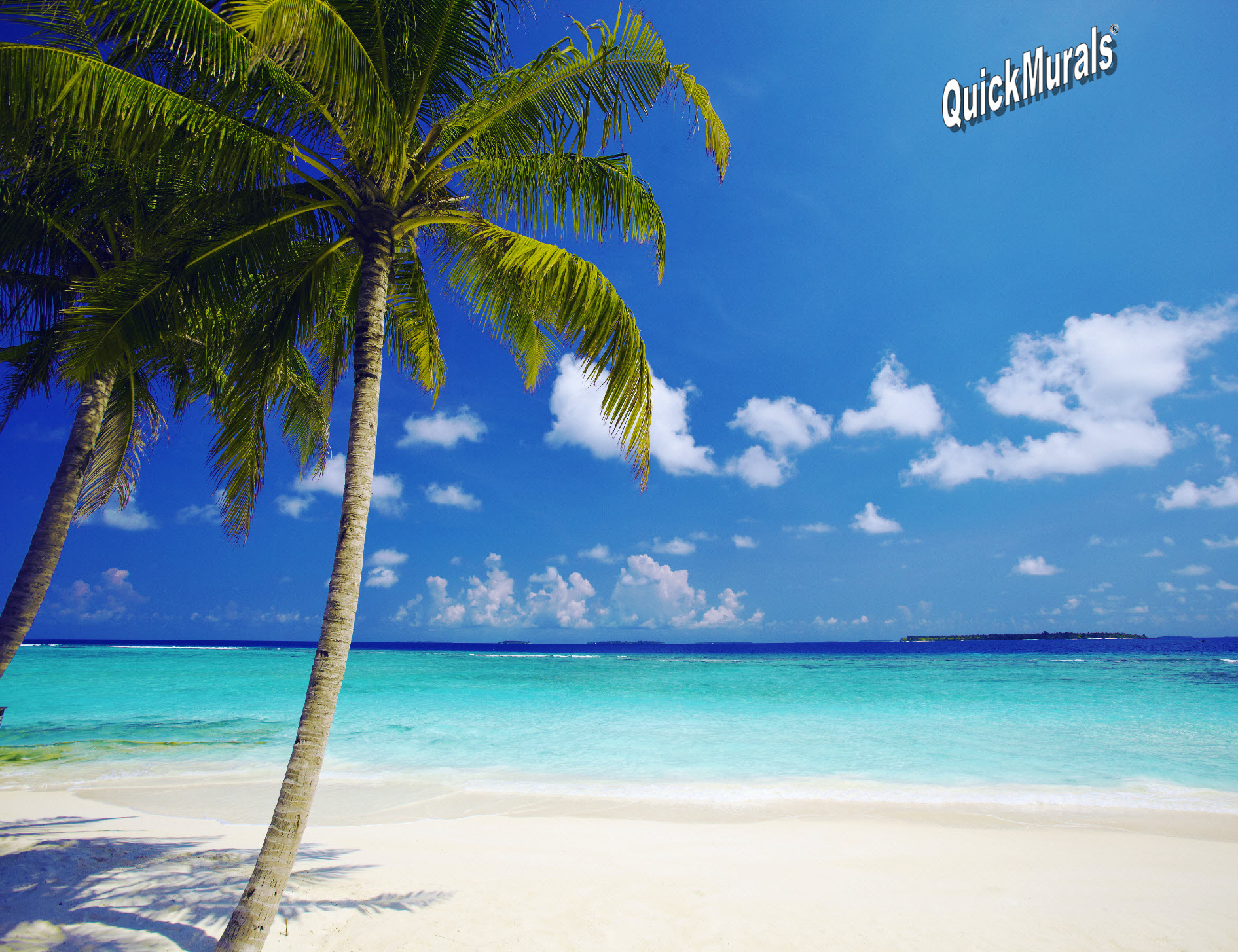 Tropical Ocean Peel And Stick Canvas Wall Mural ... Part 42