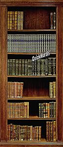 Library 1 Piece Peel & Stick Wall/Door Mural