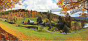 Vermont Farmhouse Peel And Stick Wall Mural