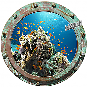 Undersea Porthole #4 Wall Mural