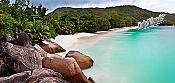 Barbados Island Beach Panoramic Peel And Stick Wall Mural