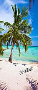 Tropic Paradise 1 Piece Peel & Stick Wall/Door Mural