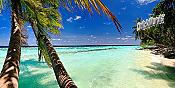 Tahiti Panoramic Peel And Stick Wall Mural