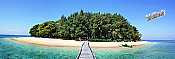 Maldives Island Peel And Stick Wall Mural